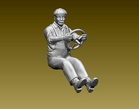 driver 3D print model shover
