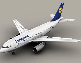 Airbus A310 Lufthansa 3D