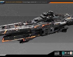 FEDERATION Cruiser GX5 3D asset
