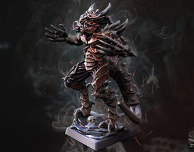 Demon Beast 3D printable model