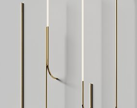 3D model Minimalistic thin Wall lams set