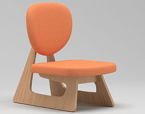 three 3D Chair