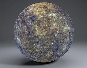 3D model Mercury 8k Globe