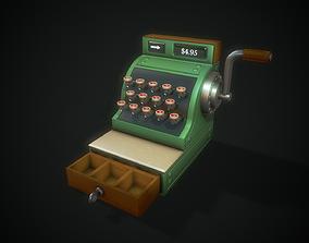 3D model Stylized Cash Register - Tutorial Included