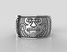 R-31 Ring Mayan calendar 3D print model