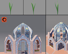 3D asset Martyrs Tomb Monument