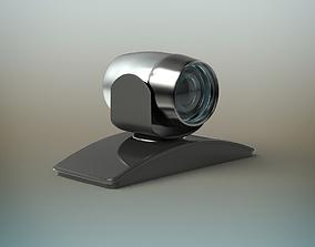 videoconferencing 3D model game-ready Camera