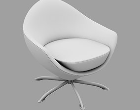 roccoco Armchair UP 3D model