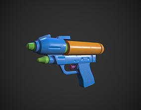 3D model realtime Water Gun