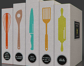 Classic Cookbooks 3D