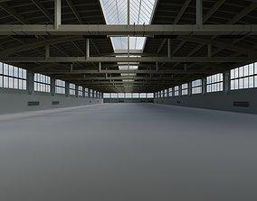 3D model Factory Hall Interior 2
