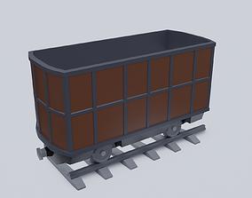 3D model Freight Wagon v4