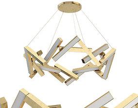 3D model Chaos 21-light Led Unique Statement Geometric