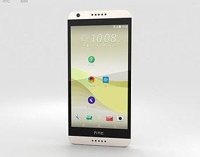 3D model HTC Desire 650 White