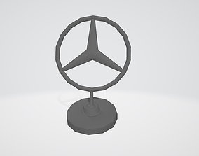 3D Mercedes C Klassen Stern
