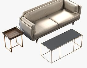 COCO SOFA UTAH SAGE by Buttercup 3D