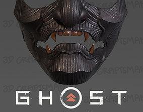 Ghost of Tsushima - Fan Art Sakai Mask 3D Print low-poly 2