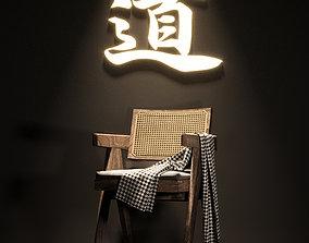 3D business chair