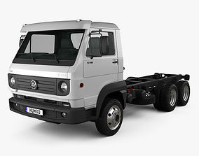 3D Volkswagen Delivery 13-160 Chassis Truck 3-axle 2015