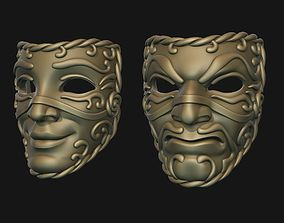 3D print model Theater Masks