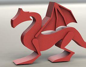 fantasy Dragon 3D print model