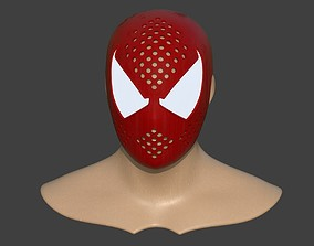 Spiderman Scarlet Faceshell ps4 3D printable model