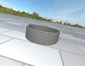 Power cable reel 1 - Object 069 3D asset