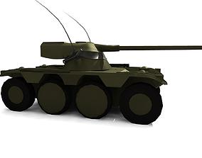 3D model EBR-75 Reconnaissance Vehicle