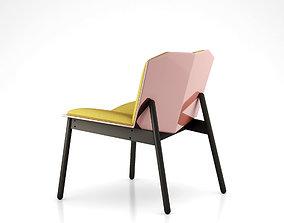 Cat Pajamas Lounge Chair by Blu Dot 3D