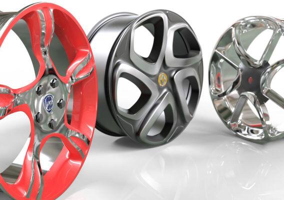 Car Rims - 3 pieces