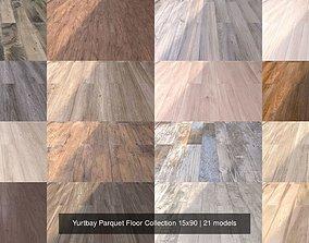 Yurtbay Parquet Floor Collection 15x90 3D model