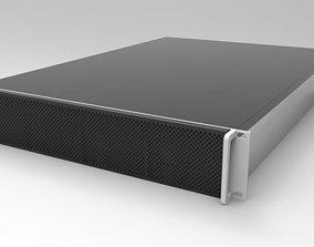 2RU 8 Bay Server 3D