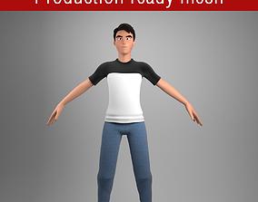 3D model Stylized character male