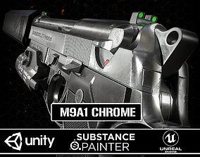M9A1 Chrome 3D asset