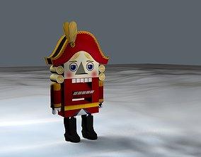 3D model Nutcracker - toy soldier