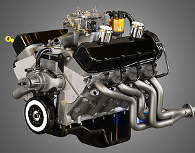 3D model 427 Engine - V8 Muscle Car Engine