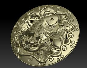 pendant of fish 3D printable model