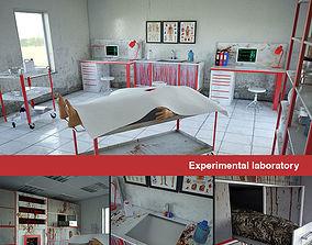Experimental laboratory 3D model