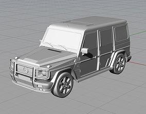 Mercedes G 3D print model