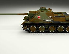 3D SU 100 Tank Destroyer Camo