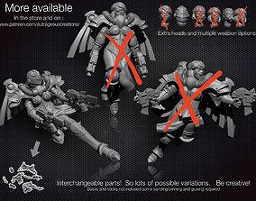 3D print model Battle Angel number 2 28mm compatible 1