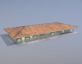 3D model MilitaryBase PortoVelho House 01