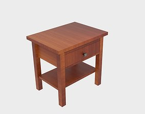 3D model Montego End Table