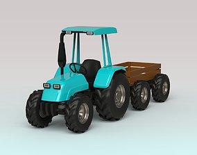 Tractor trailer 3D