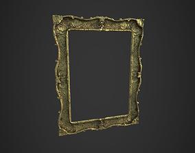 Victorian Frame 3D asset