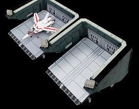 Set2 - Macross SDF-1 Prometheus Double 3D print model 1