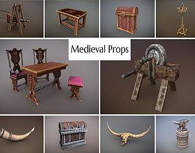 Medieval Props Unreal Engine 3D model