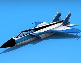 3D asset Mig-31 Foxhound