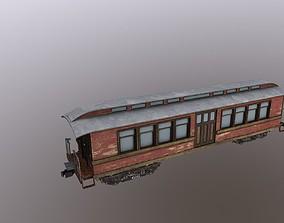 train transport 3D asset VR / AR ready