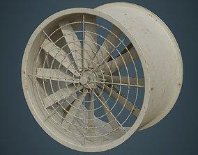 3D model Industrial Fan 2B